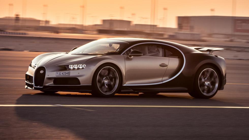 Chris Harris con el Bugatti Chiron (XI)