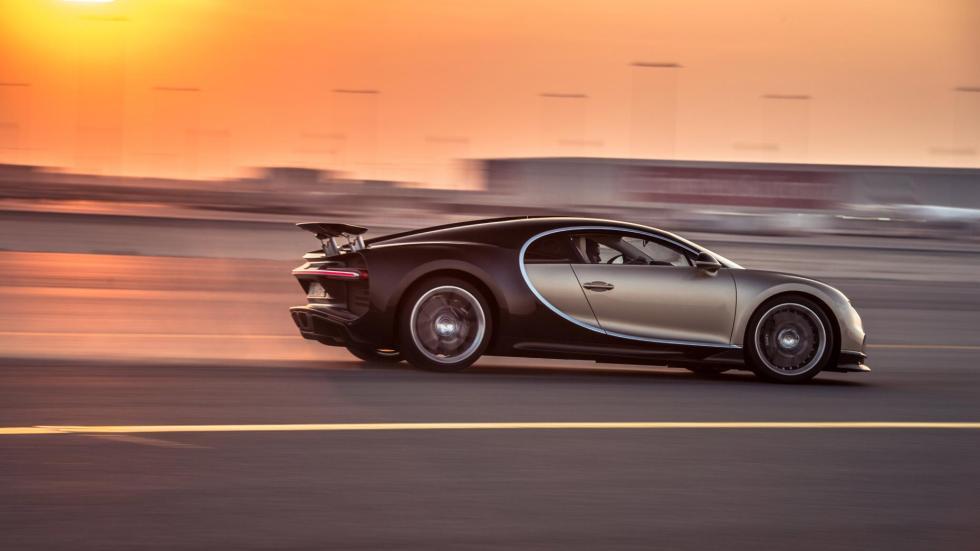 Chris Harris con el Bugatti Chiron (XII)