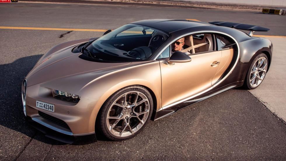 Chris Harris con el Bugatti Chiron (XIII)