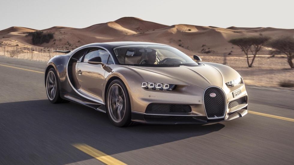 Chris Harris con el Bugatti Chiron (XIX)
