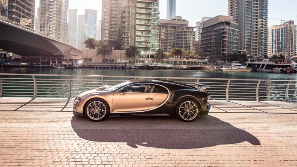 Chris Harris con el Bugatti Chiron (XV)