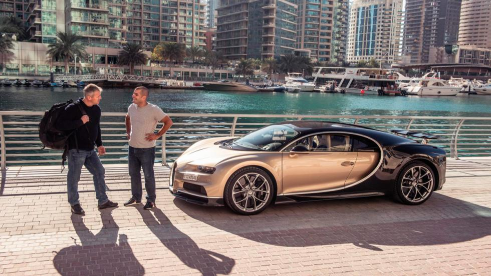 Chris Harris con el Bugatti Chiron (XVI)