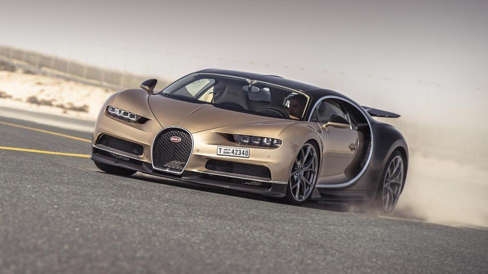 Chris Harris con el Bugatti Chiron (XVII)