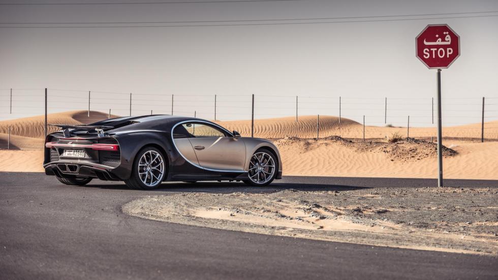 Chris Harris con el Bugatti Chiron (XX)