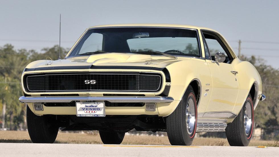 Los clásicos más populares en Estados Unidos según Instagram - Chevrolet Camaro