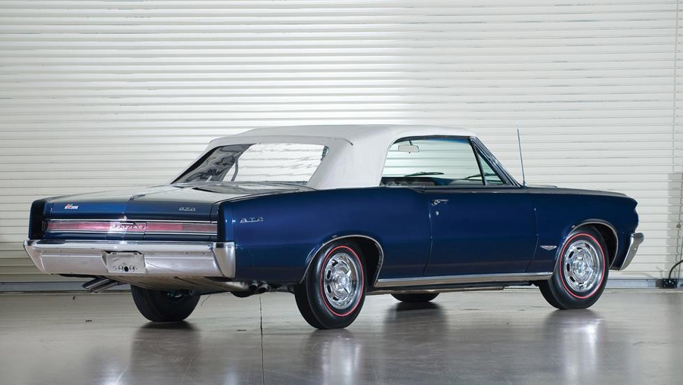 Los clásicos más populares en Estados Unidos según Instagram - Pontiac GTO
