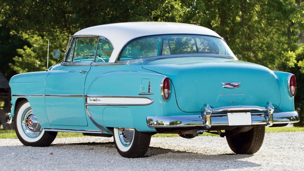 Los clásicos más populares en Estados Unidos según Instagram - Chevrolet Bel Air