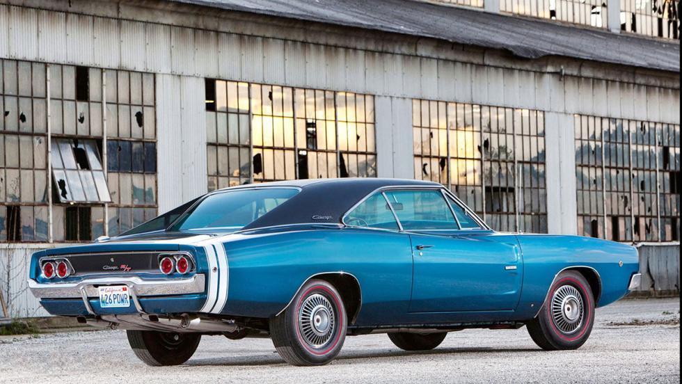 Los clásicos más populares en Estados Unidos según Instagram - Dodge Charger