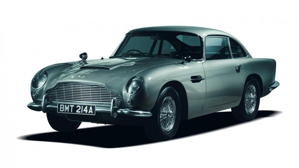 Coches comprar James Bond: Aston Martin DB5