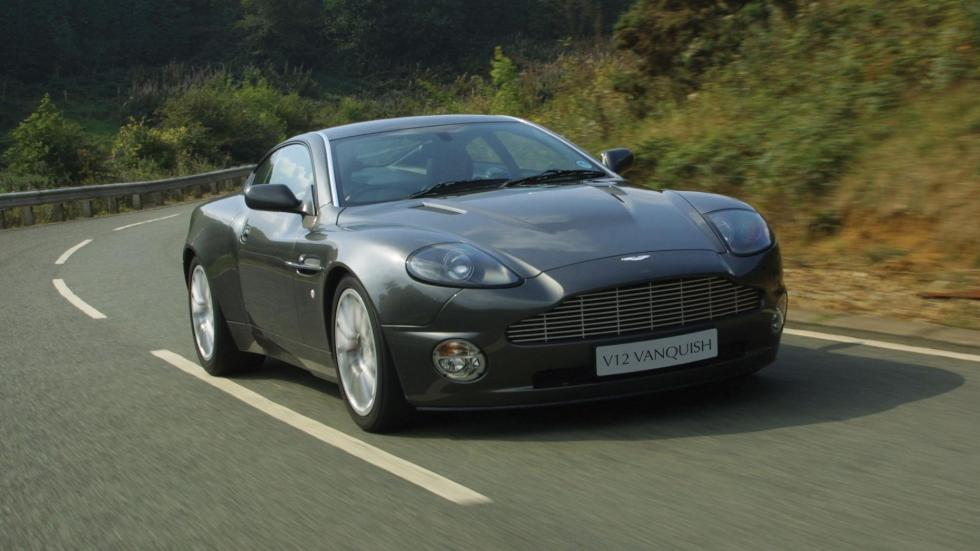 Coches comprar James Bond: Aston Martin Vanquish