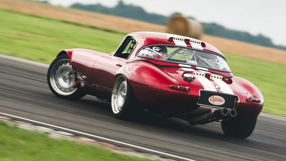 "Los coches de drift más locos - Jaguar E-Type ""Project purist"""