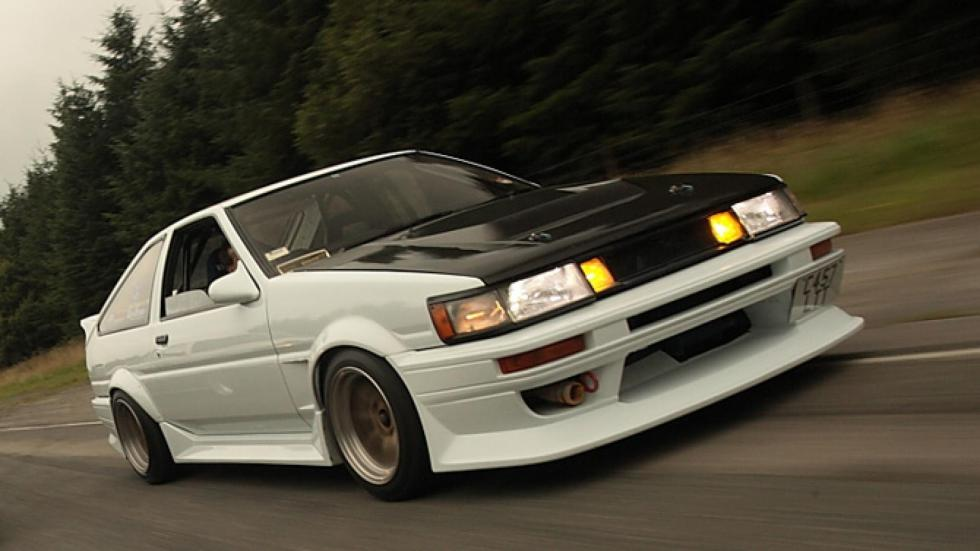 Coches para hacer drift: Toyota AE86