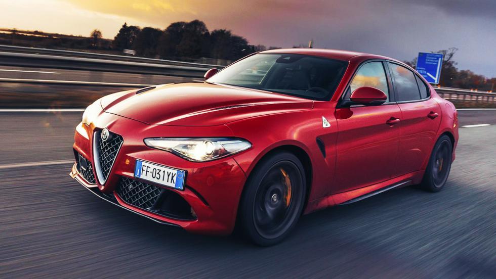 Los coches más espectaculares de la nueva temporada de Top Gear - Alfa Romeo Giulia Quadrifoglio Verde