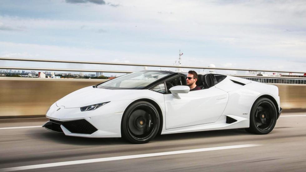 Los coches más espectaculares de la nueva temporada de Top Gear - Lamborghini Huracán Spyder