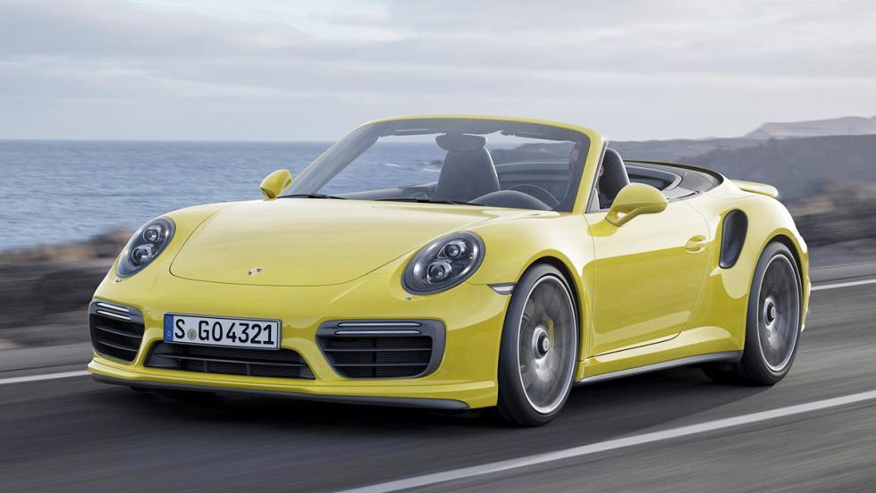 Los coches más espectaculares de la nueva temporada de Top Gear - Porsche 911 Turbo S Cabriolet