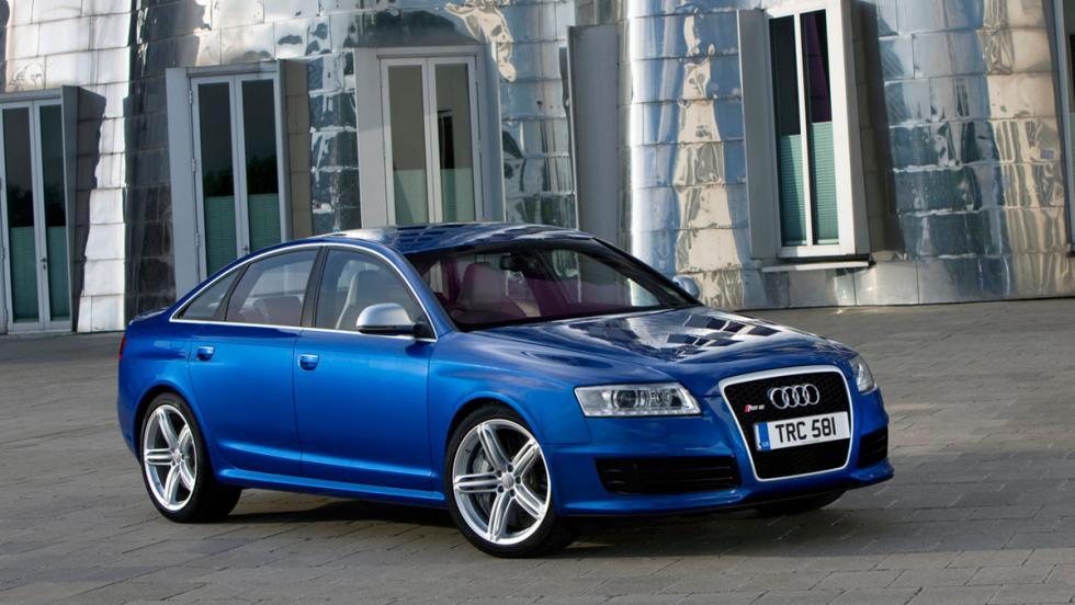Coches más lentos que el Audi RS5: Audi RS6