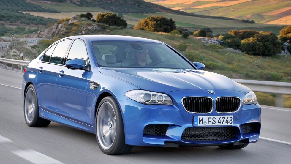 Coches más lentos que el Audi RS5: BMW M5