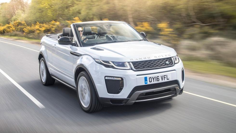 Coches para mujeres: Range Rover Evoque Cabrio (II)