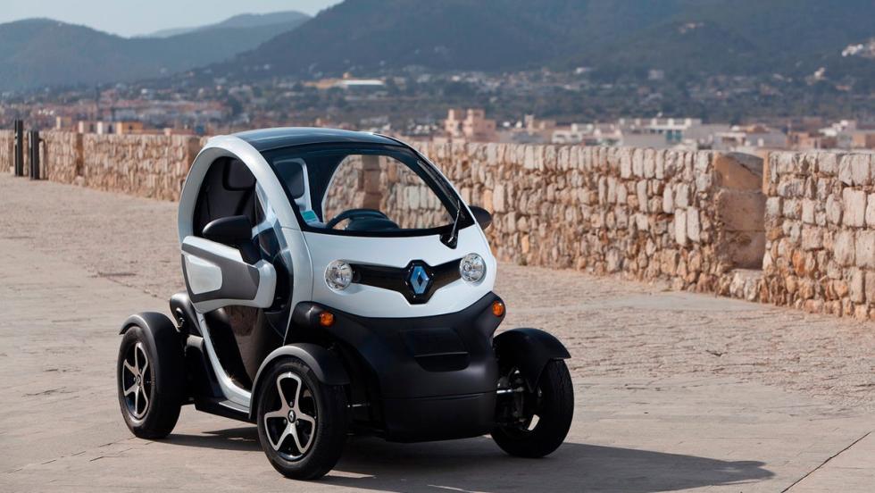 Coches para no regalar a tu padre: Renault Twizy (I)