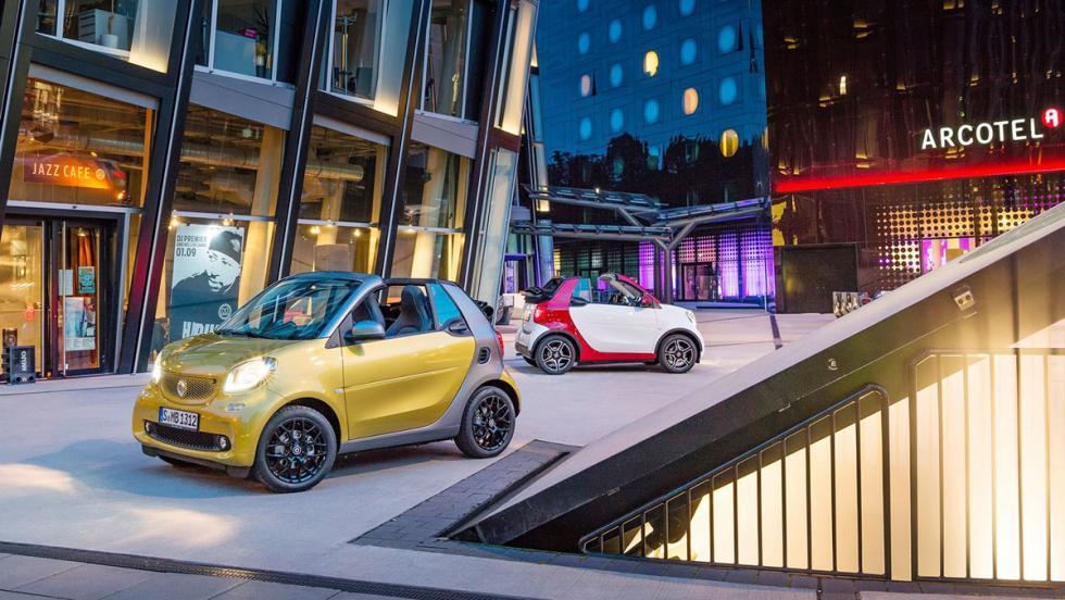 Coches nuevos entre 15.000 y 18.000 euros - Smart Cabrio