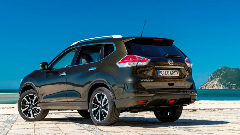 Coches que aparcan solos, Nissan X-Trail (II)