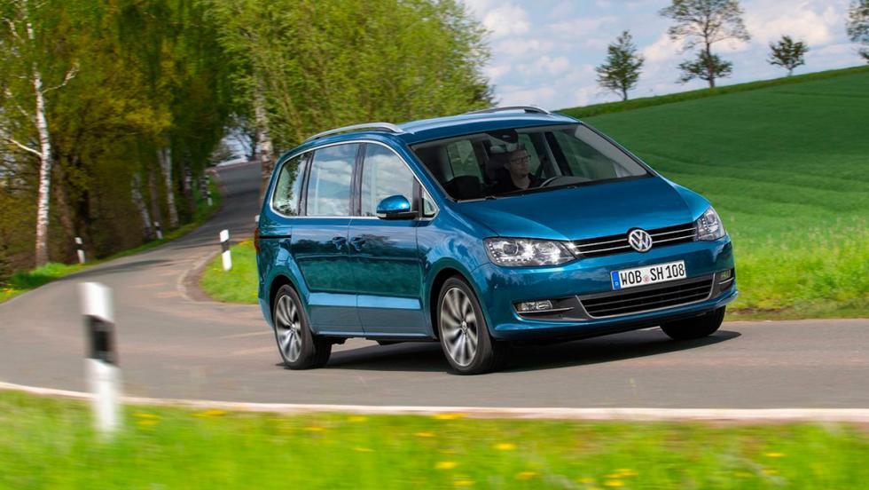 Coches que aparcan solos, Volkswagen Sharan (II)