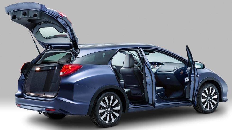 Coches que molan más en versión familiar - Honda Civic Tourer