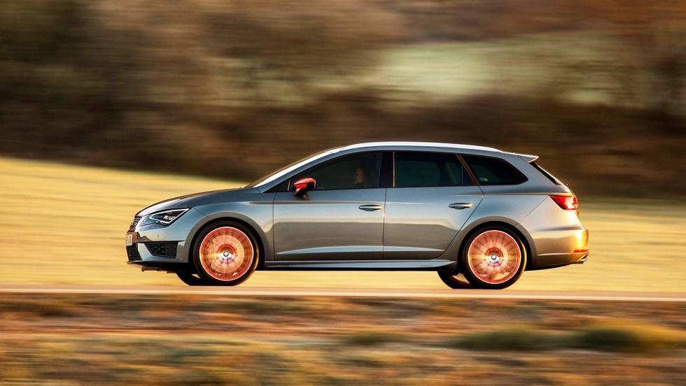 Coches que molan más en versión familiar - Seat León Cupra ST 2017