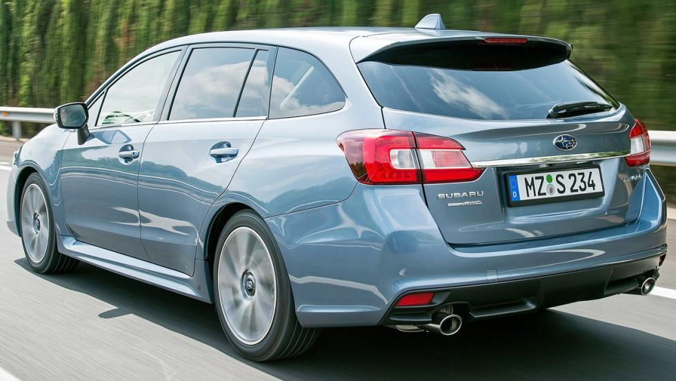 Coches que molan más en versión familiar - Subaru Levorg