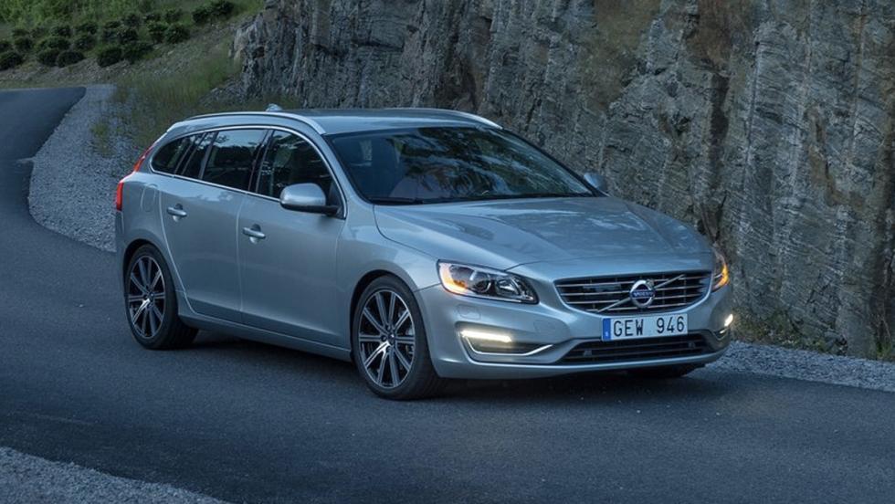 Coches que superan el tope de emisiones: Volvo V60 (I)