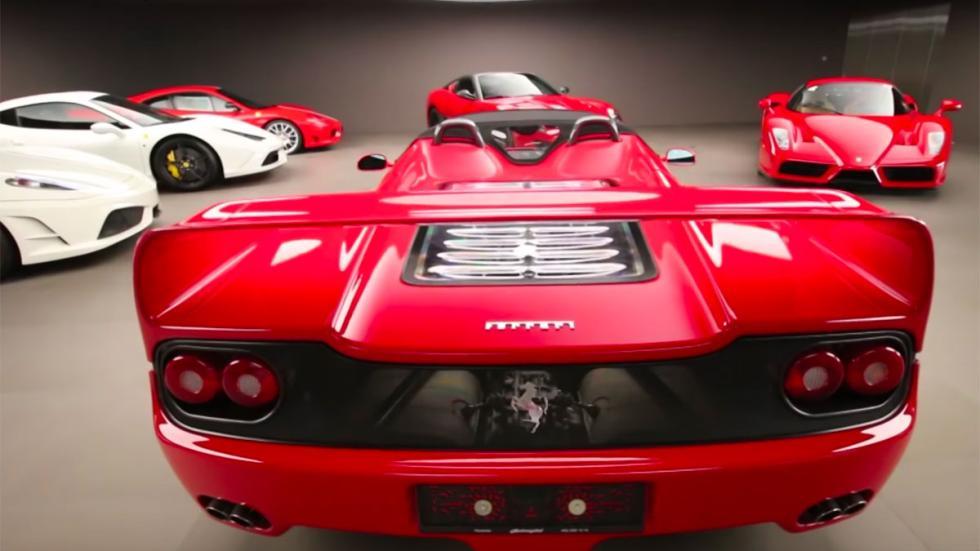 Colección Ferrari en Suiza garaje mejor stradman
