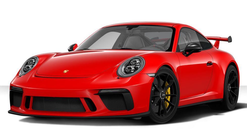 Configurador del Porsche 911 GT3 2017