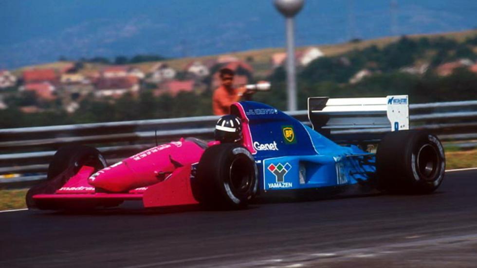 Damon Hill y su extraño Brabham de 1992