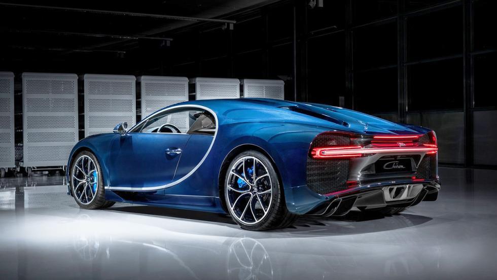 Deportivos circuiteros que en realidad no lo son - Bugatti Chiron