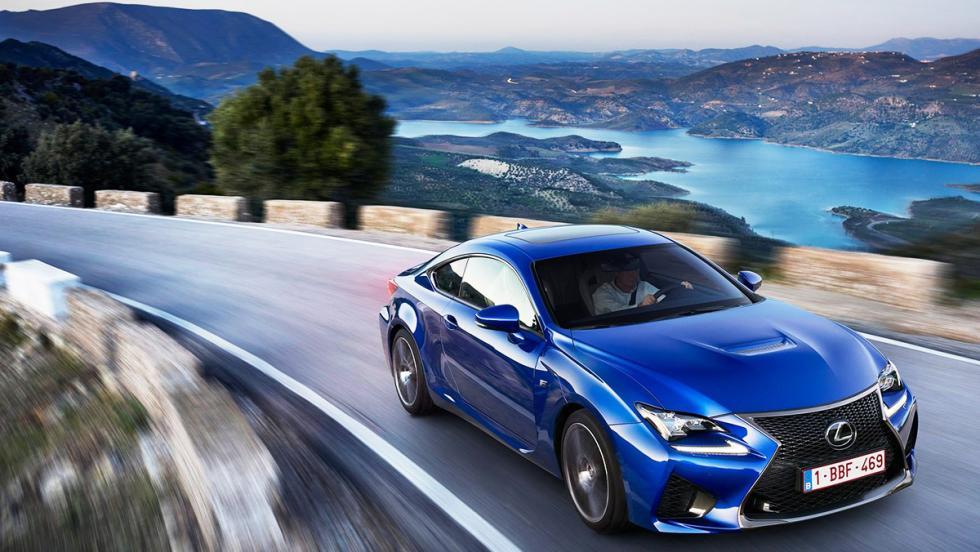 Los deportivos más vendidos en febrero en España - Lexus RC - 18 unidades