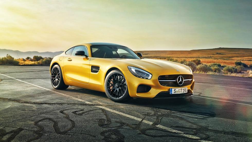 Los deportivos más vendidos en febrero en España - Mercedes-AMG GT - 3 unidades