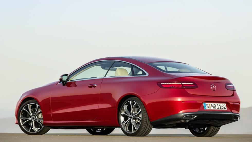 Los deportivos más vendidos en febrero en España - Mercedes-Benz Clase E - 7 unidades