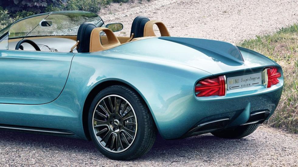 Los detalles más curiosos que esconden los coches - Mini Superleggera Vision Concept