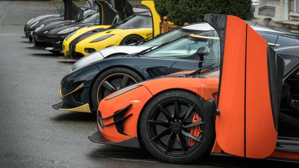 Evento Koenigsegg en Ginebra Agera CCX One:1 RS Nayara