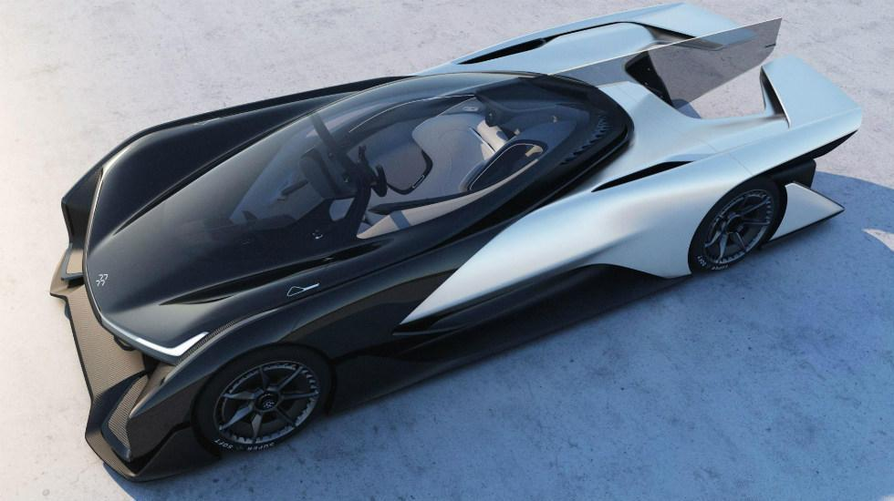 Faraday FFZERO1 deportivo superdeportivo eléctrico