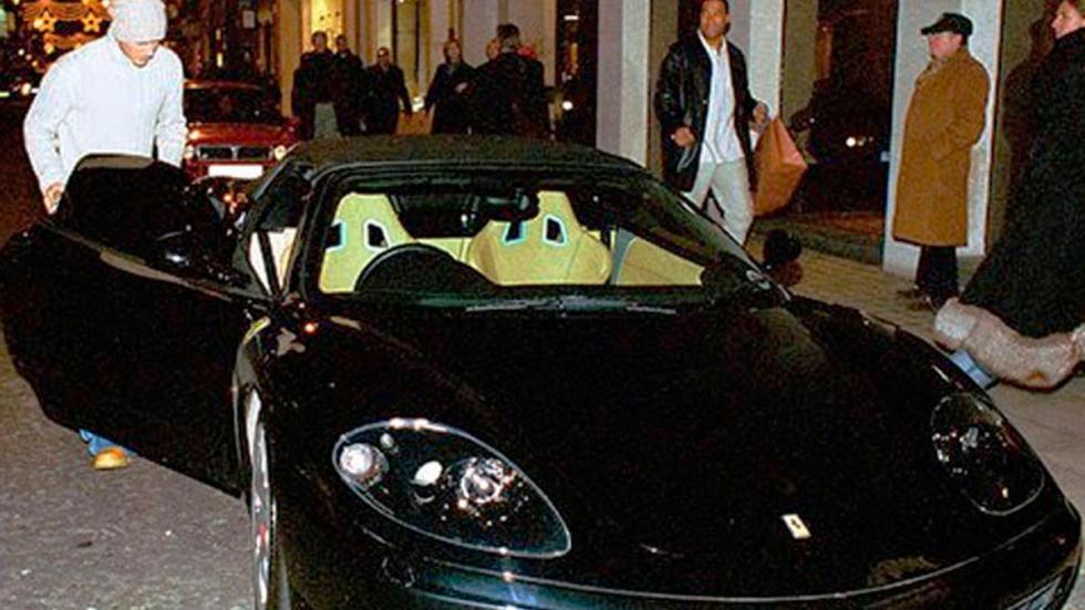 Ferrari 360 spider David Beckham famoso