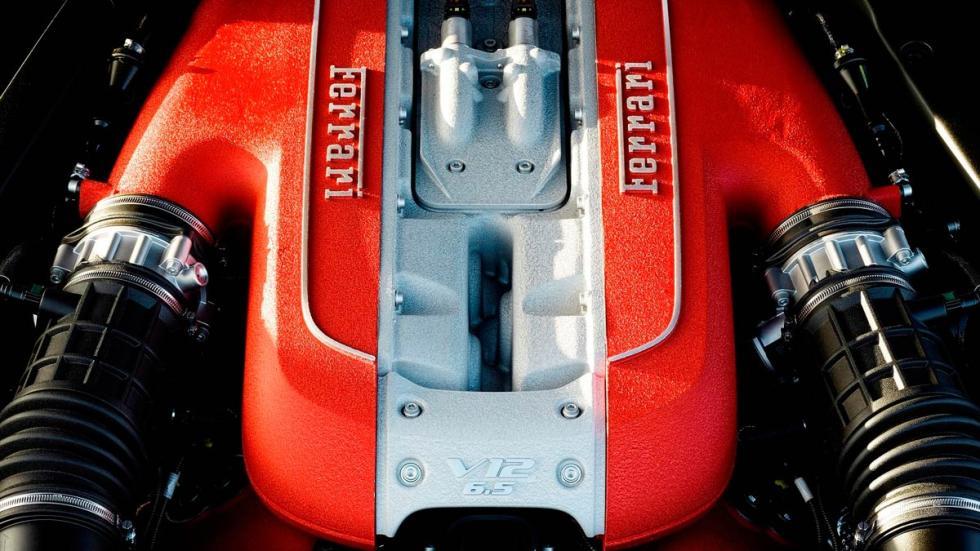 Ferrari 812 Superfast motor atmosférico