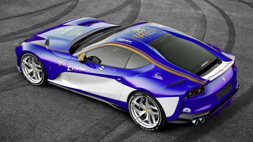 Ferrari 812 Superfast Sauber F1