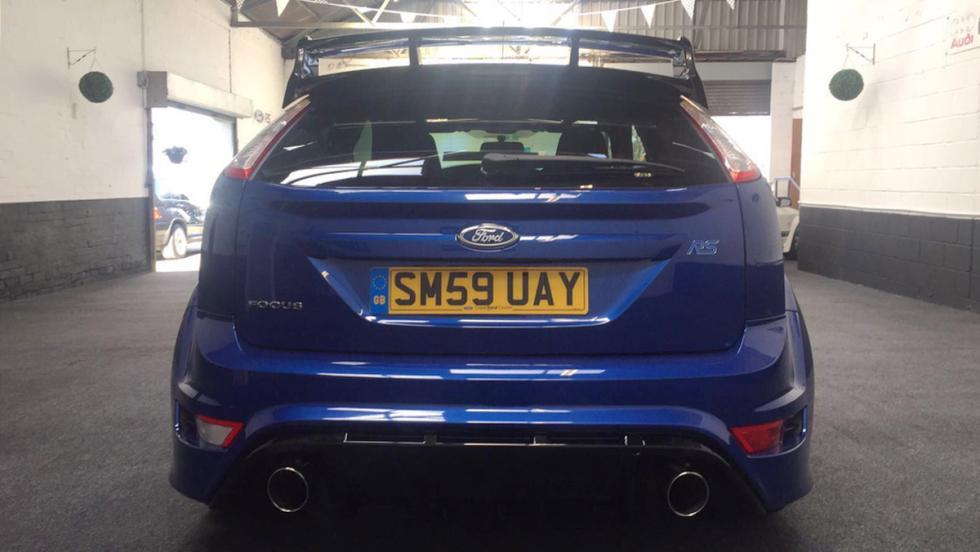 Un Ford Focus RS de 2009 sale a subasta... con 72 kilómetros