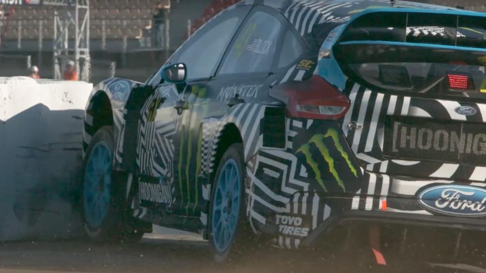 El Ford Focus RS RX de Ken Block