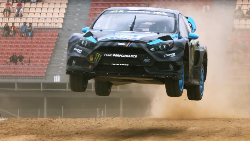 El Ford Focus RS RX de Ken Block