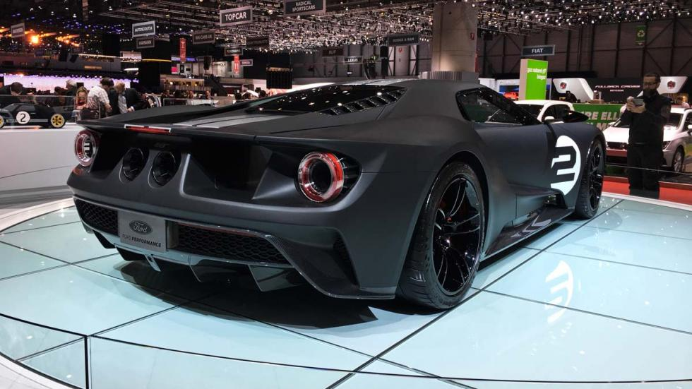 Ford GT 66 Heritage Edition Salón de Ginebra 2017