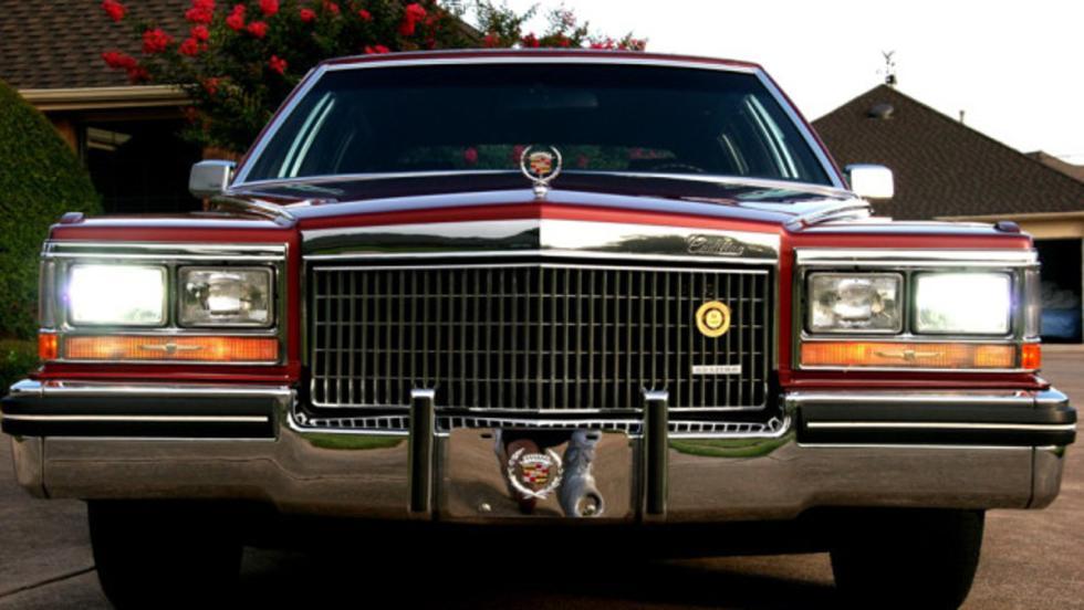 Frontal del Cadillac Fleetwood Brougham d'Elegance 1980
