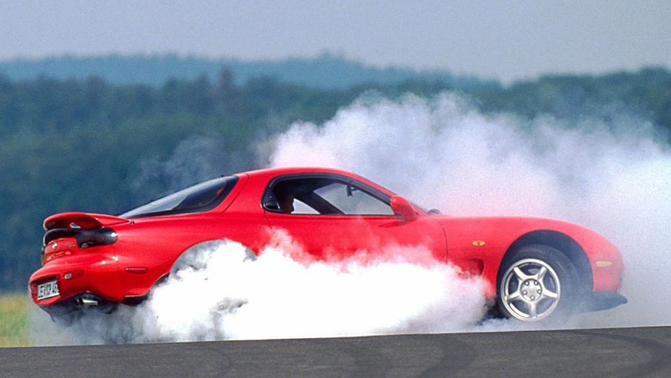 El glorioso motor Wankel - Mazda RX-7