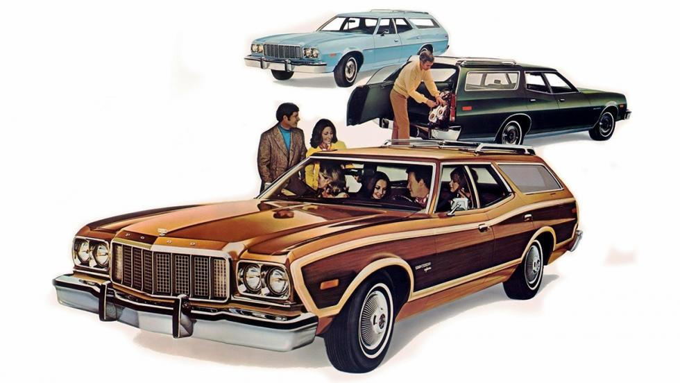 La historia del Ford Gran Torino - En 1973 su imagen se modernizó...